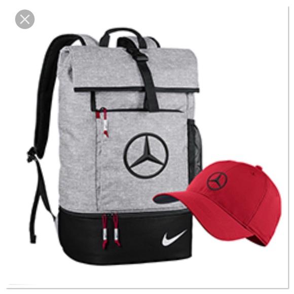 ec26ac08e5694 Nike Athletic Golf backpack Mercedes Benz logo